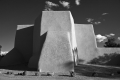 SF Church 2 Taos B&W