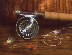 Flyfish Reel Stillife