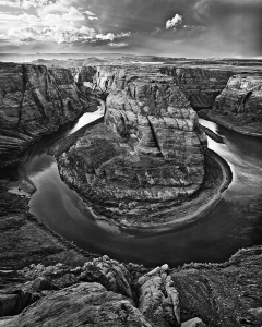 Horse Shoe Bend B&W