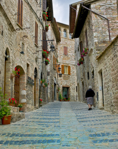 Assisi Morning Stroll